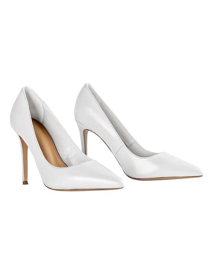 Lotus Milk Capretto Heels image 2