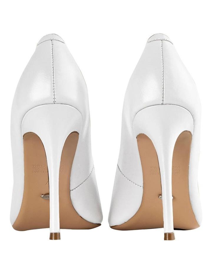 Lotus Milk Capretto Heels image 3