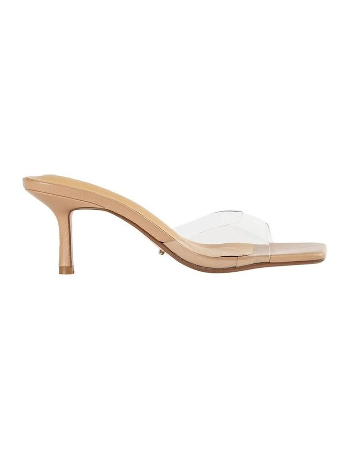 Alisha Clear Vinylite Skin Nappa Heels image 1