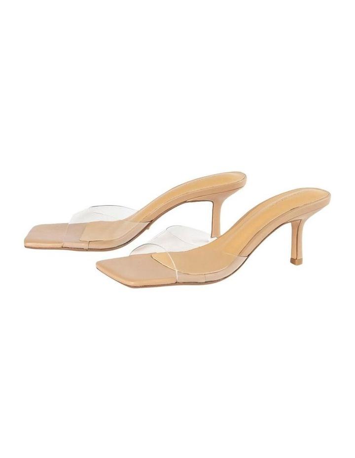 Alisha Clear Vinylite Skin Nappa Heels image 2
