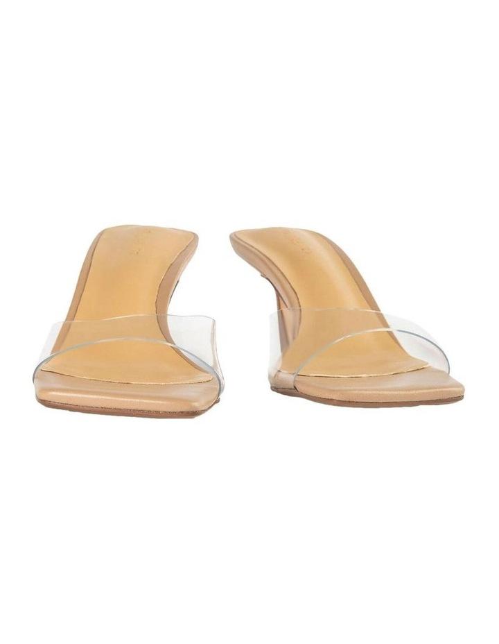 Alisha Clear Vinylite Skin Nappa Heels image 3