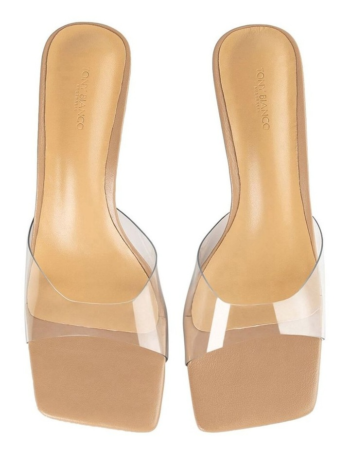 Alisha Clear Vinylite Skin Nappa Heels image 4
