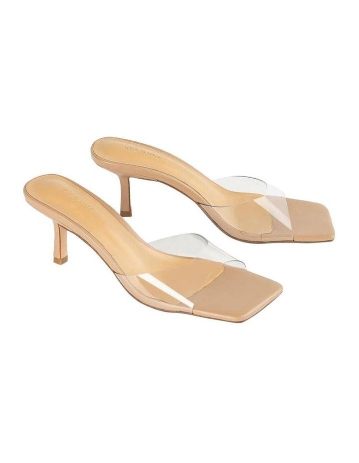 Alisha Clear Vinylite Skin Nappa Heels image 5
