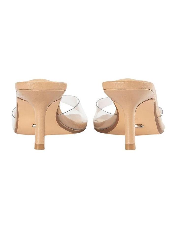 Alisha Clear Vinylite Skin Nappa Heels image 6