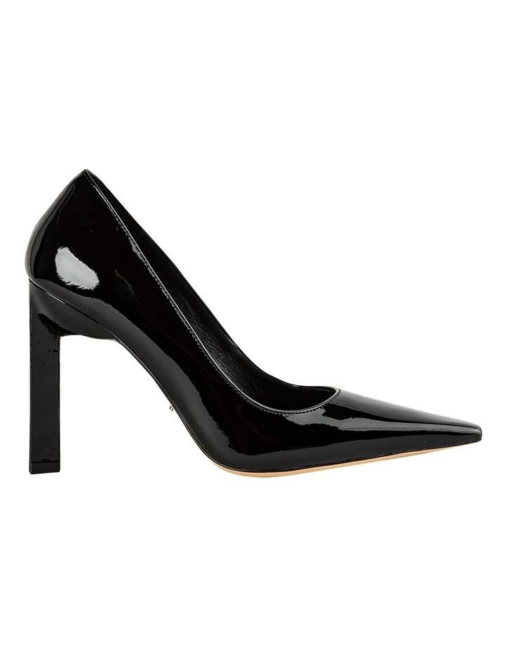 Elegant Black Patent Heels image 1