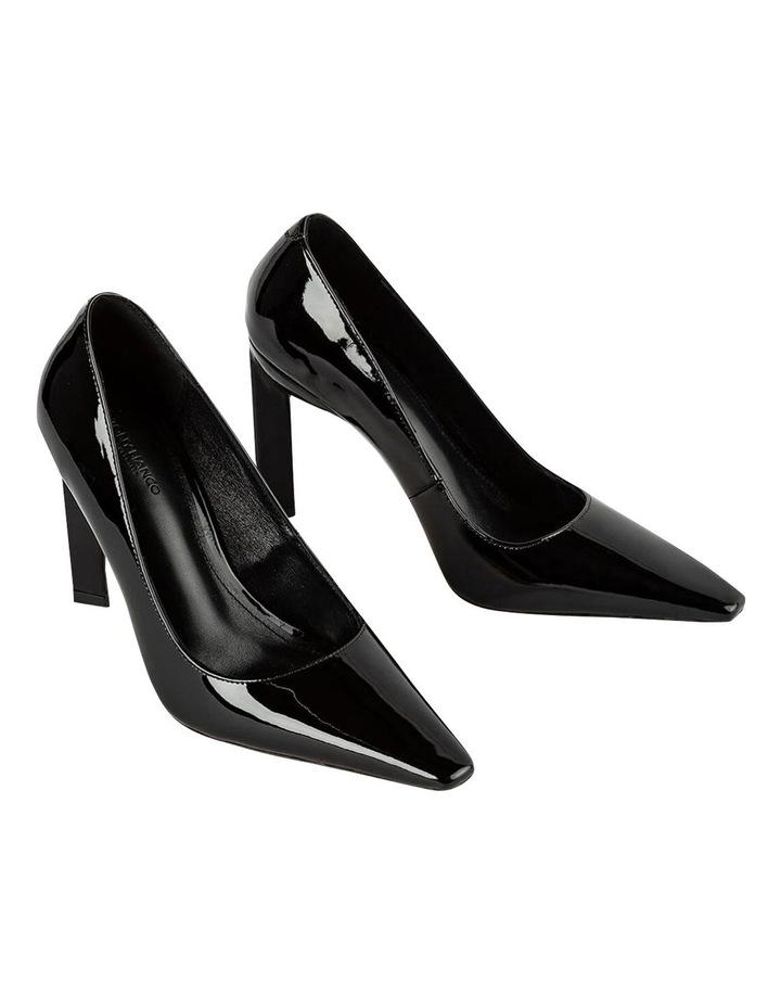 Elegant Black Patent Heels image 2