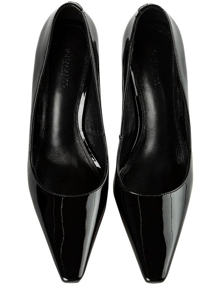 Elegant Black Patent Heels image 6