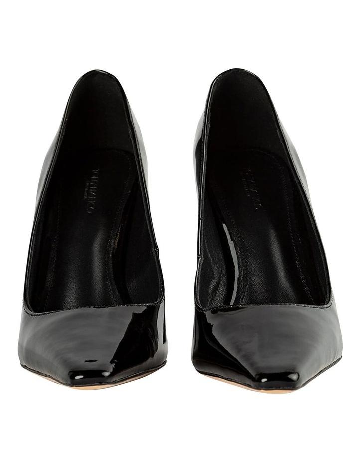 Elegant Black Patent Heels image 7