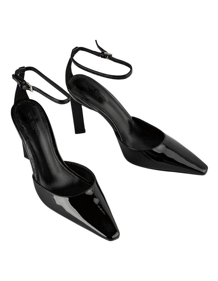 Elektra Black Patent Heels image 2