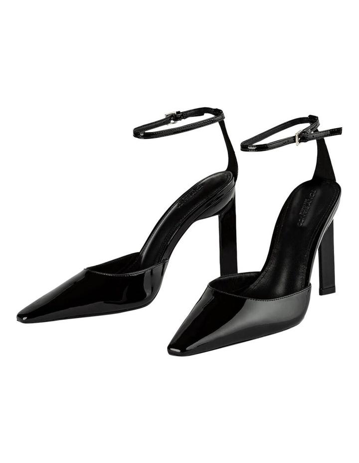 Elektra Black Patent Heels image 4