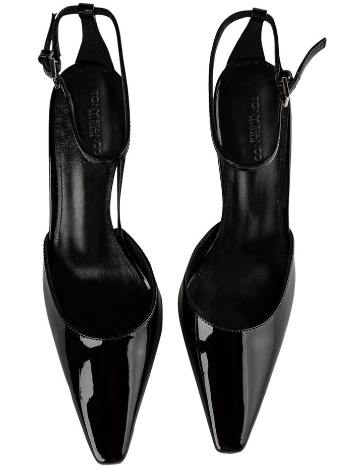 Elektra Black Patent Heels image 6