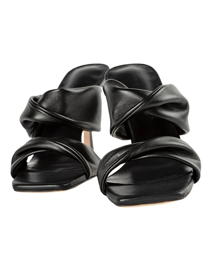 Felipe Black Nappa Heels image 2