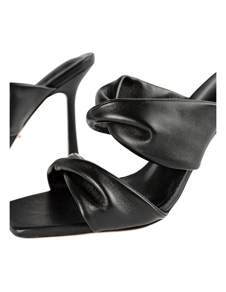 Felipe Black Nappa Heels image 4