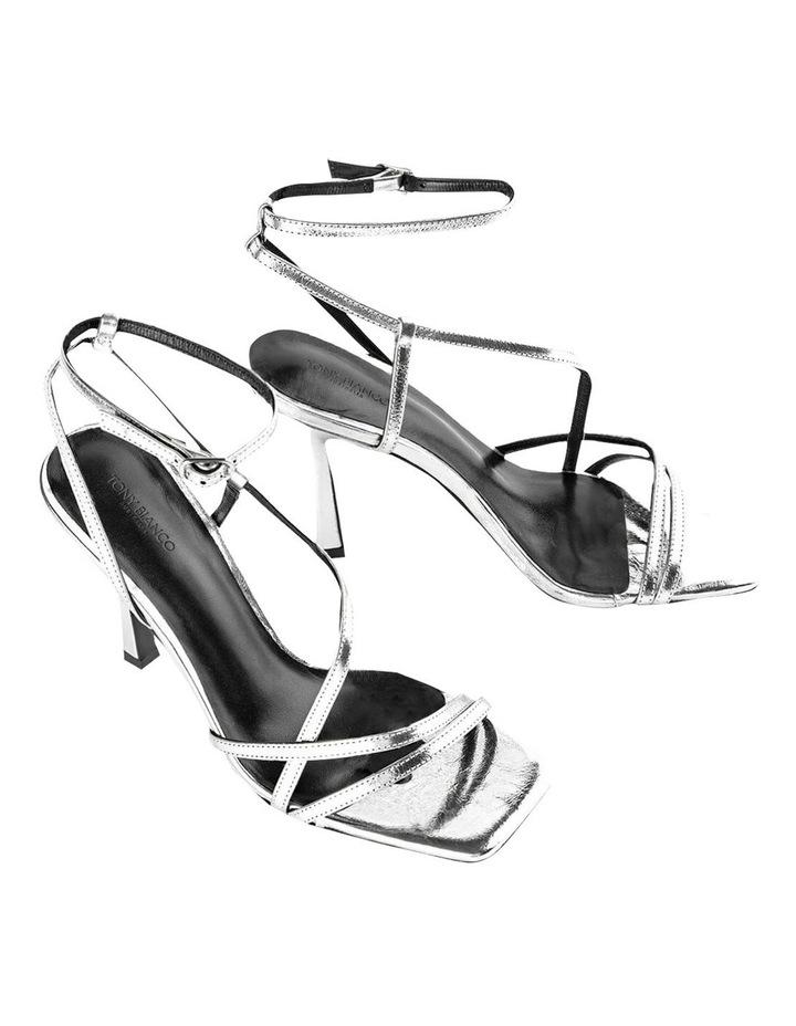 Franci Silver Foil Heels image 2