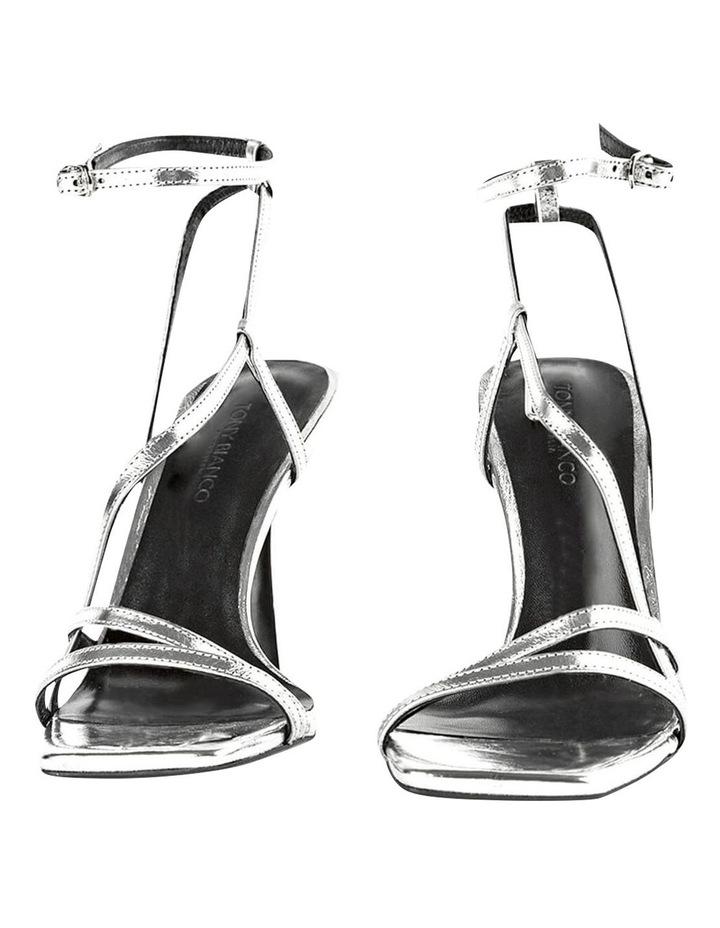 Franci Silver Foil Heels image 3