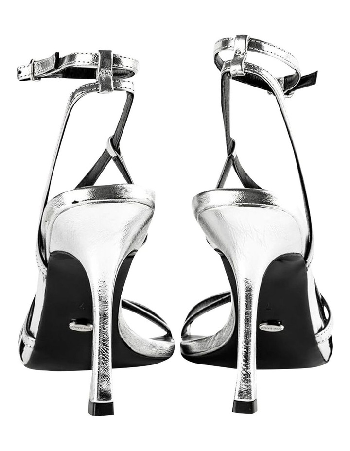 Franci Silver Foil Heels image 5