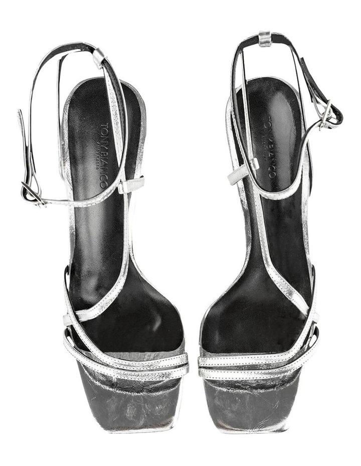 Franci Silver Foil Heels image 6