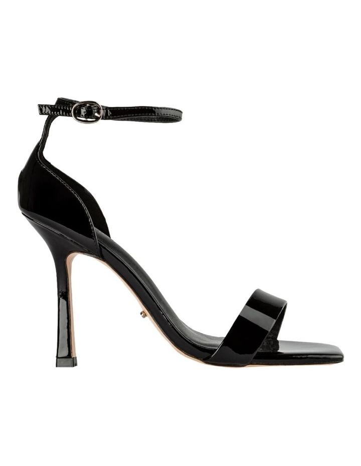 Funky Black Patent Heels image 1