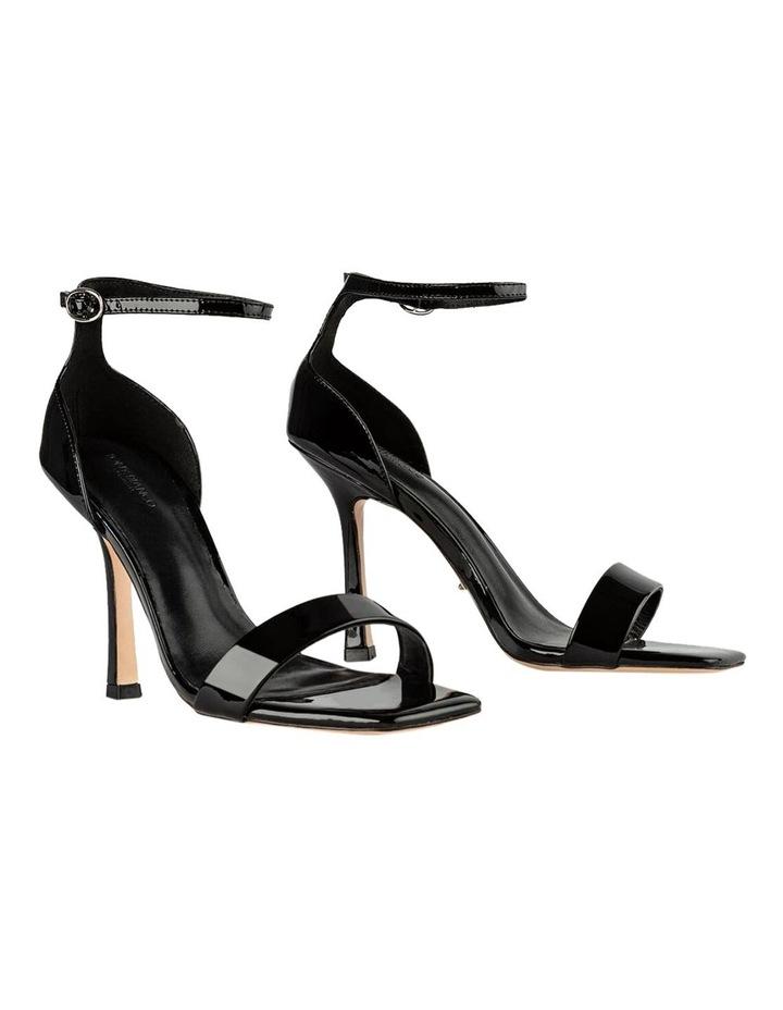 Funky Black Patent Heels image 2