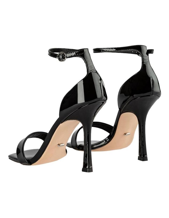 Funky Black Patent Heels image 4