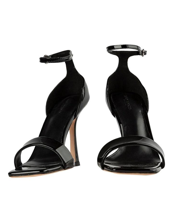 Funky Black Patent Heels image 5