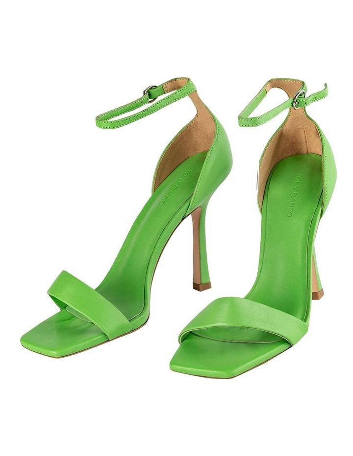 Funky Lime Nappa Heels image 2