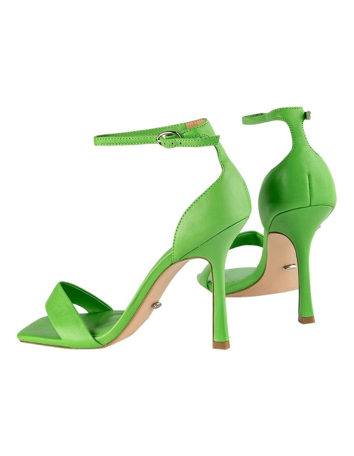 Funky Lime Nappa Heels image 3
