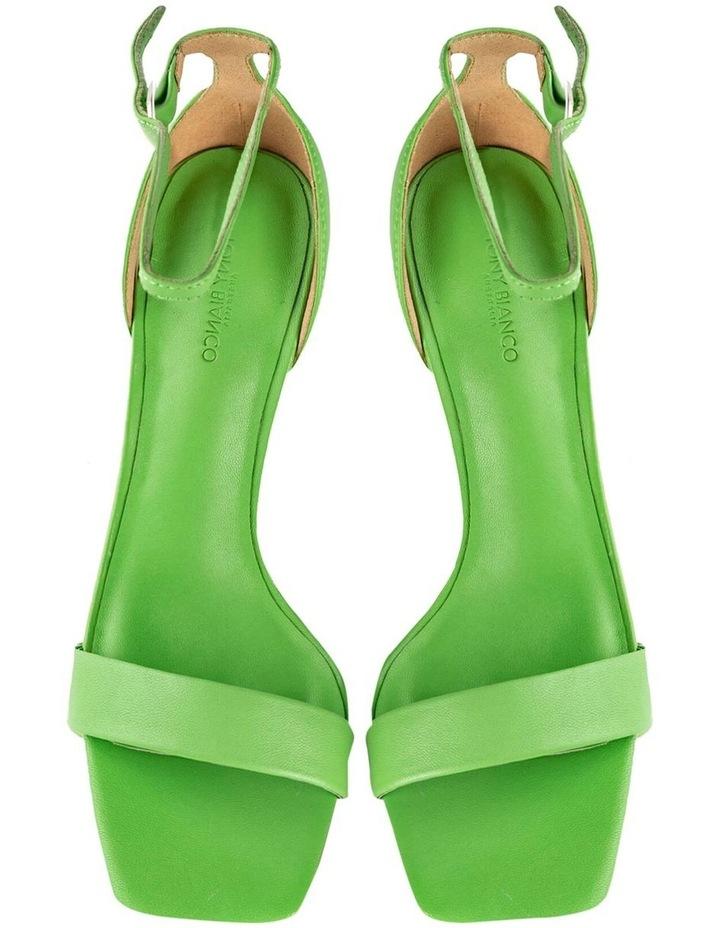 Funky Lime Nappa Heels image 5