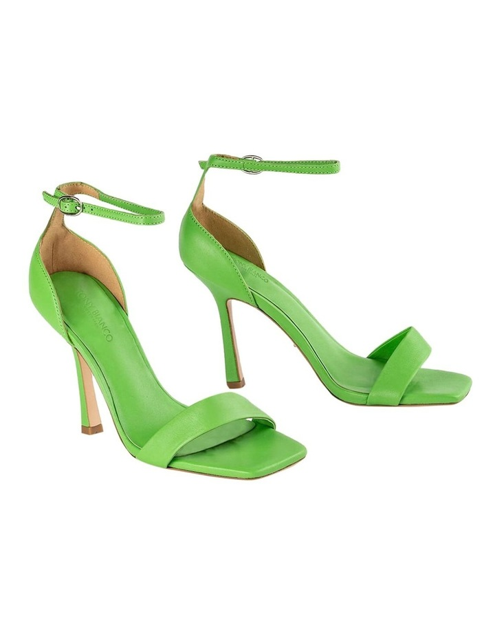 Funky Lime Nappa Heels image 6