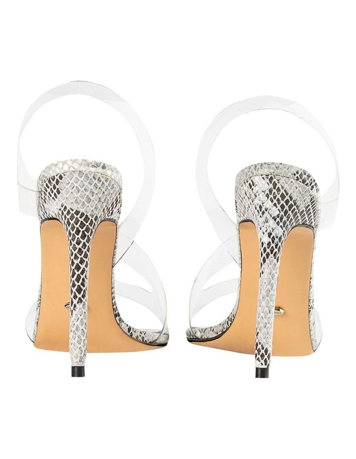 Kaya Clear Vinylite/Aztec Snake Heels image 6