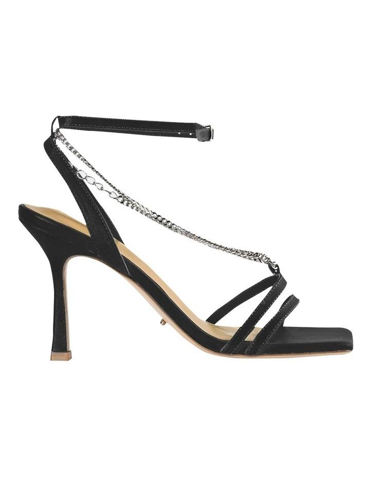 Lazaar Black Nappa Heels image 1