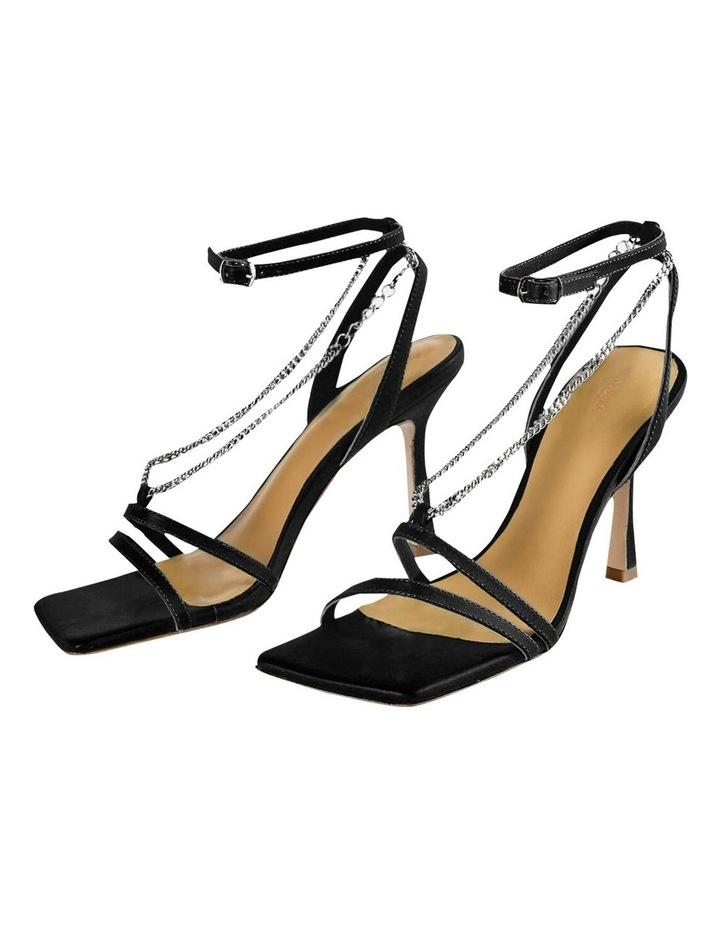 Lazaar Black Nappa Heels image 2