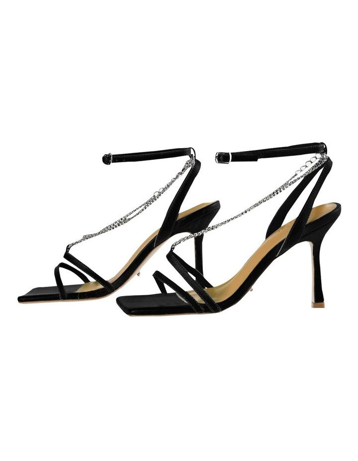 Lazaar Black Nappa Heels image 3