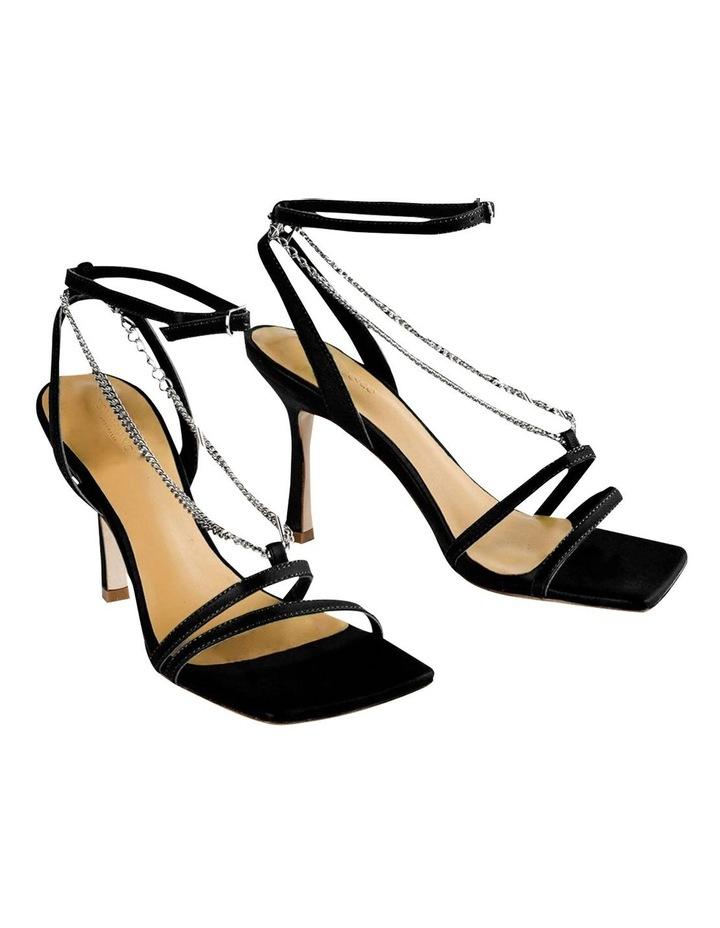 Lazaar Black Nappa Heels image 5