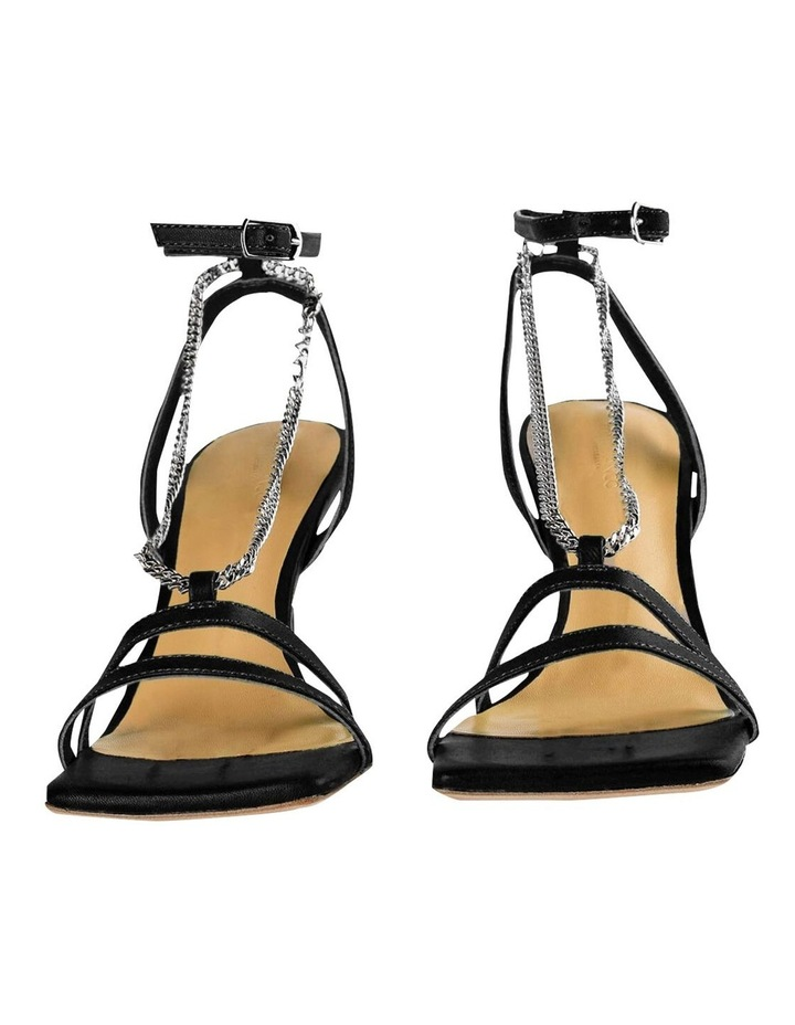 Lazaar Black Nappa Heels image 6