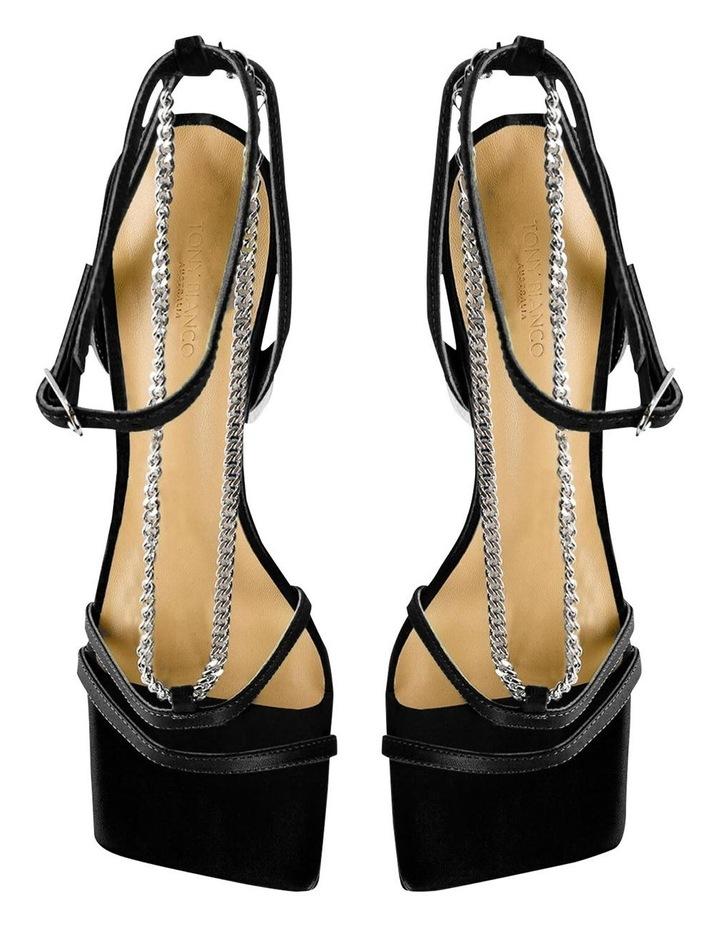 Lazaar Black Nappa Heels image 7