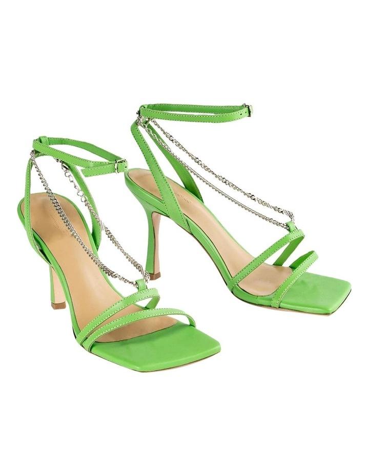 Lazaar Lime Nappa Heels image 2