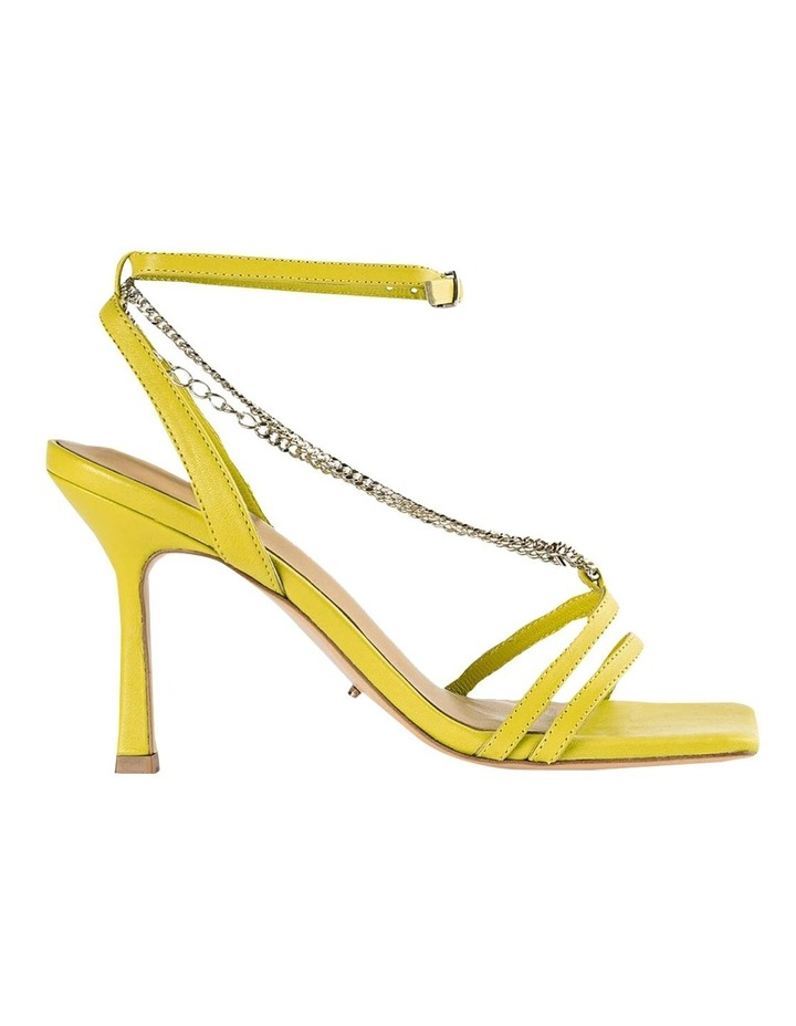 Lazaar Yellow Nappa Heels image 1