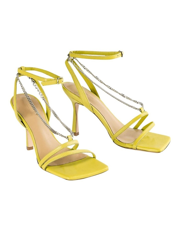 Lazaar Yellow Nappa Heels image 2