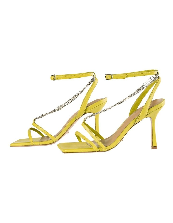 Lazaar Yellow Nappa Heels image 4