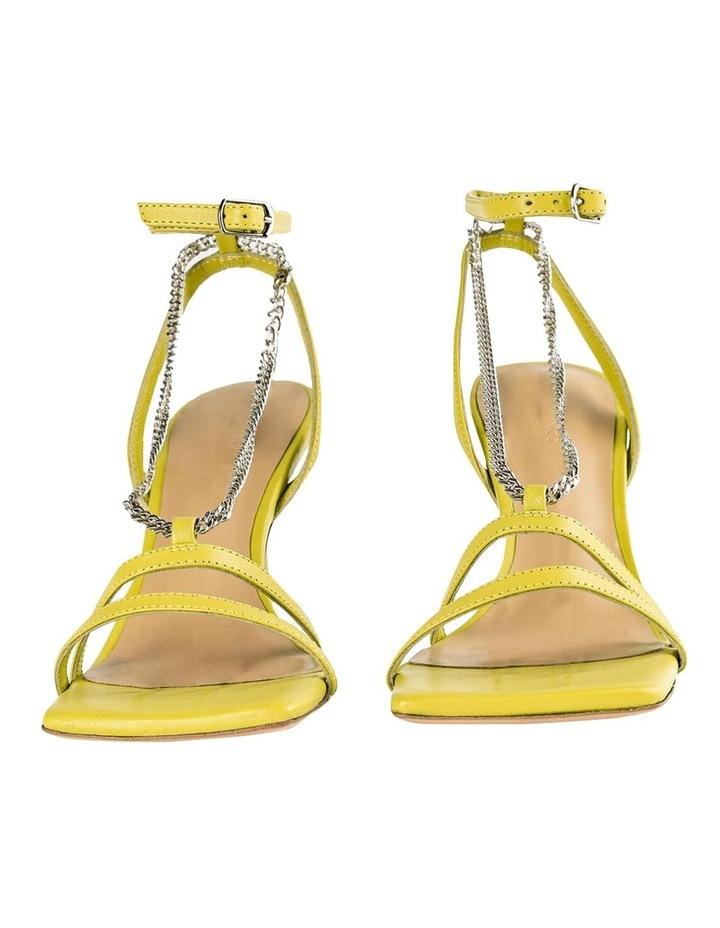 Lazaar Yellow Nappa Heels image 5
