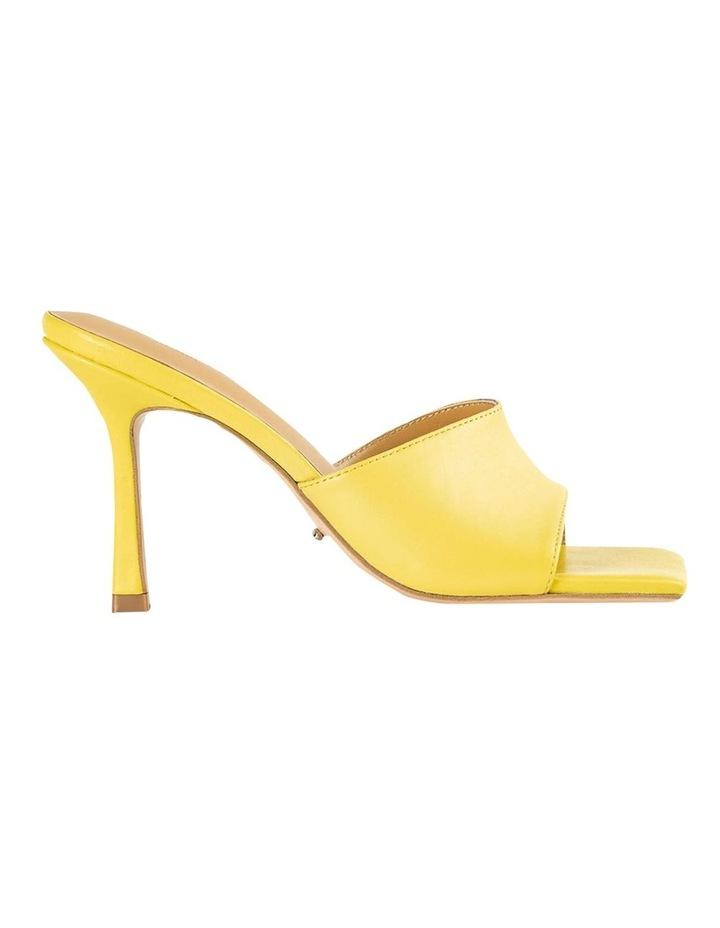 Lex Yellow Nappa Heels image 1