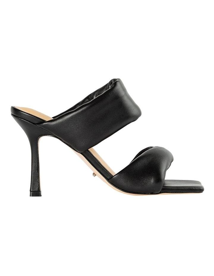 Lucy Black Nappa Heels image 1