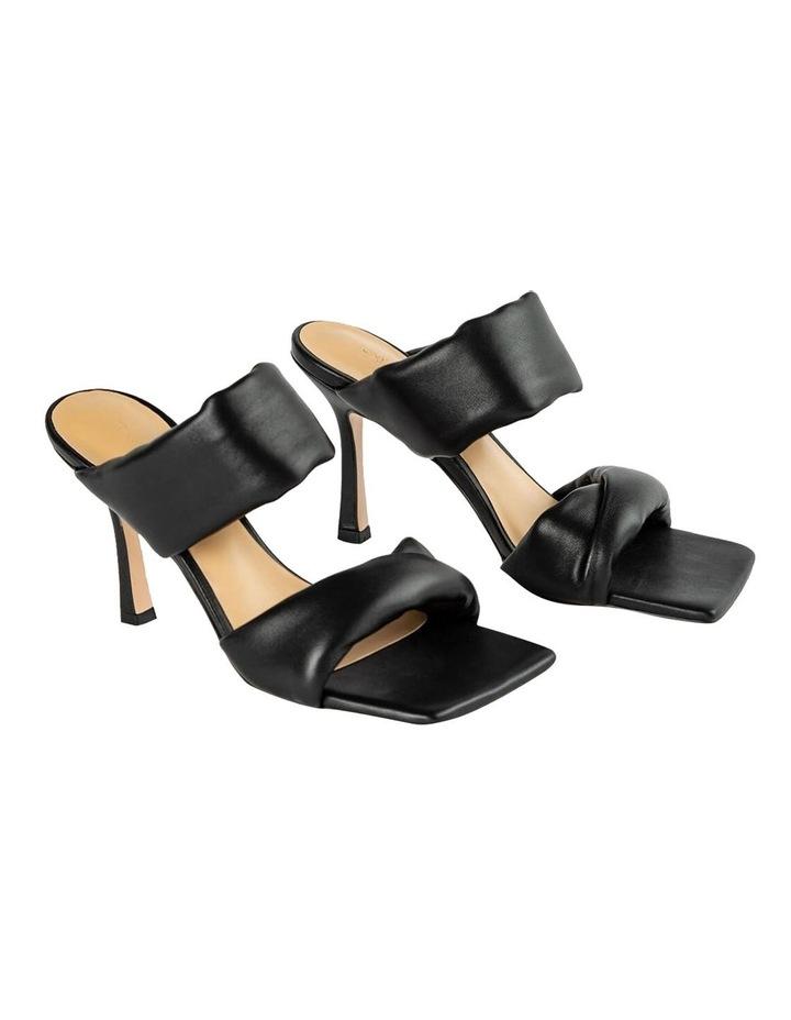 Lucy Black Nappa Heels image 2