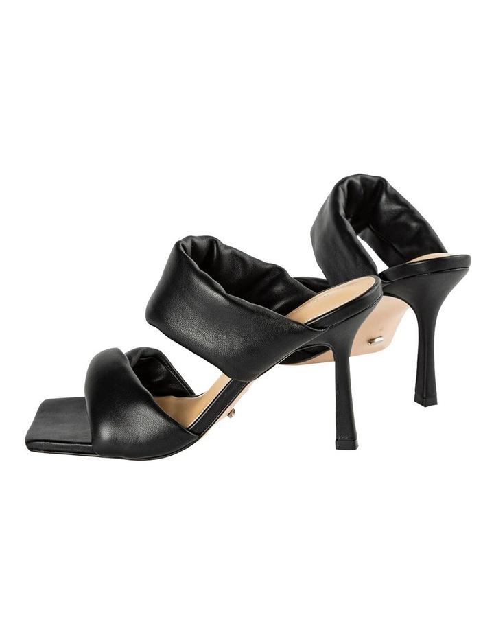 Lucy Black Nappa Heels image 4
