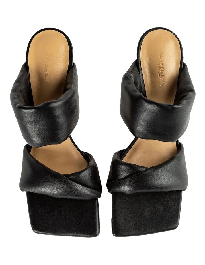 Lucy Black Nappa Heels image 6