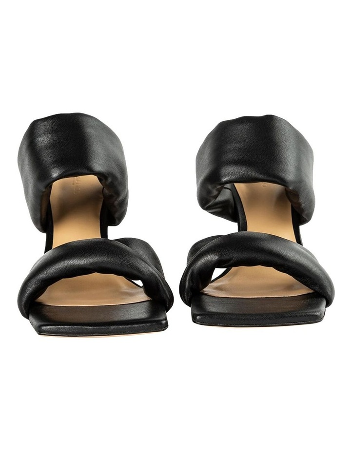 Lucy Black Nappa Heels image 7