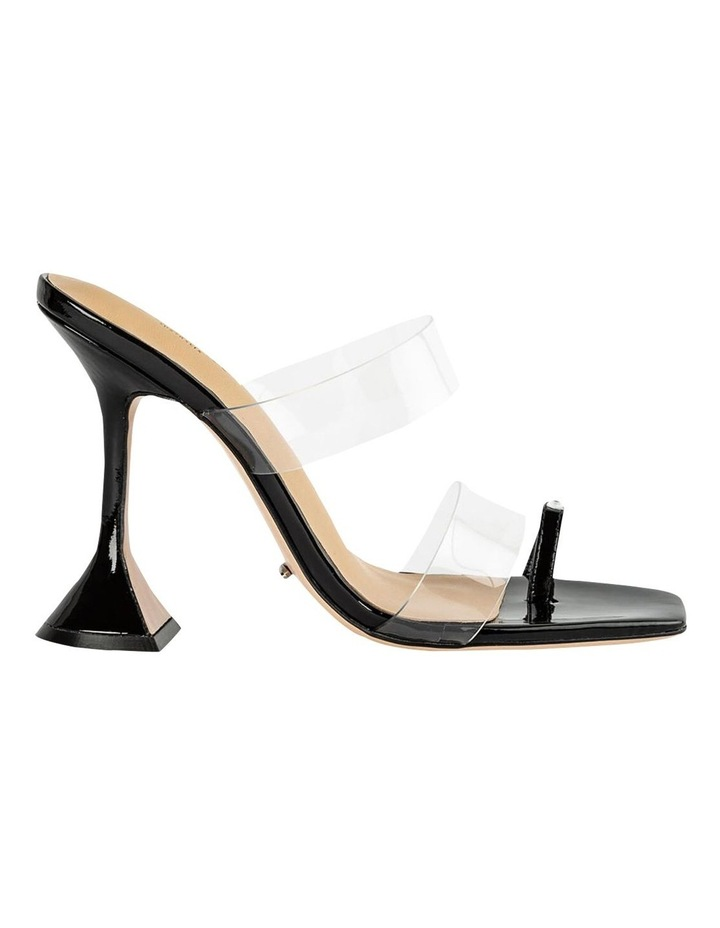 Saffron Clear Vinylite/Black Patent Heels image 1