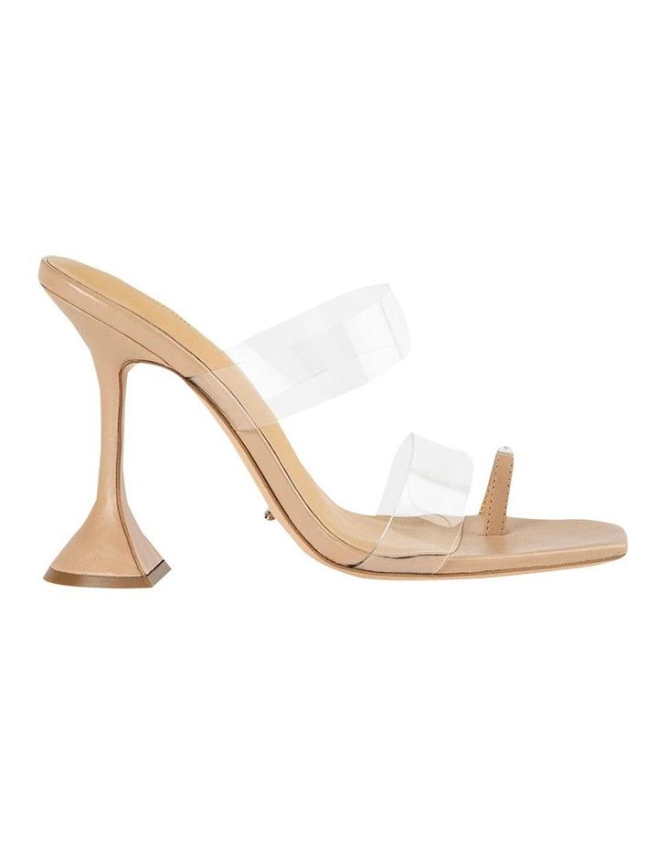 Saffron Clear Vinylite/Skin Nappa Heels image 1