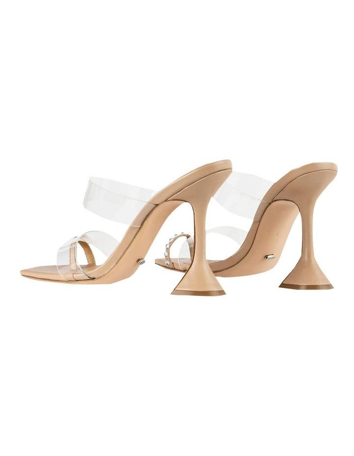 Saffron Clear Vinylite/Skin Nappa Heels image 4